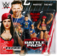 WWE Battle Packs 51 The Miz & Maryse