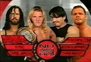 X-Pac vs Chris Jericho vs Eddie Guerrero vs Chris Benoit