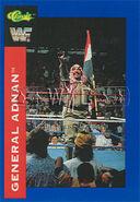 1991 WWF Classic Superstars Cards General Adnan 67