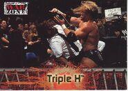 2001 WWF RAW Is War (Fleer) Triple H 75