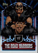 2011 Topps WWE Classic Wrestling The Road Warriors 87