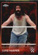 2015 Chrome WWE Wrestling Cards (Topps) Luke Harper 45