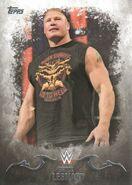 2016 Topps WWE Undisputed Wrestling Cards Brock Lesnar 6