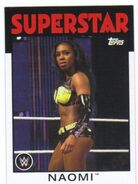 2016 WWE Heritage Wrestling Cards (Topps) Naomi 48