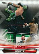 2019 WWE Raw Wrestling Cards (Topps) Kalisto 39
