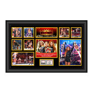 Becky Lynch WrestleMania 35 Signed Commemorative Plaque