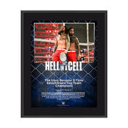 The Usos Hell In A Cell 2017 10 x 13 Commemorative Photo Plaque