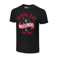 WrestleMania 36 Logo T-Shirt