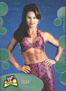 2001 WWF The Ultimate Diva Collection (Fleer) Ivory 3