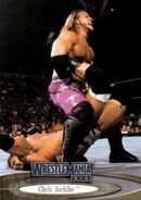 2003 WWE WrestleMania XIX (Fleer) Chris Jericho 31