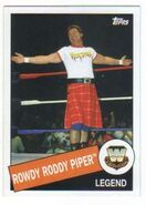2015 WWE Heritage Wrestling Cards (Topps) Rowdy Roddy Piper 40