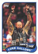 2018 WWE Heritage Wrestling Cards (Topps) Luke Gallows 45
