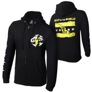 CM Punk GTS Full Zip Sweatshirt