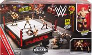 Goldberg Elite Figure w Authentic Scale Ring Playset