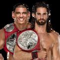 Seth Rollins & Jason Jordan WWE Raw Tag Team Championship