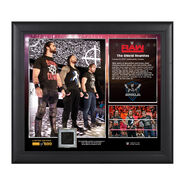 The Shield Reunites 15 x 17 Framed Plaque w Worn T-Shirt