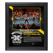 Undisputed Era NXT TakeOver Chicago 15 x 17 Framed Plaque w Ring Canvas