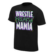 WrestleMania 34 Wrestle Frakin' Mania T-Shirt