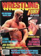 Wrestling Fury - April 1989
