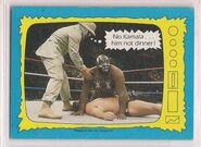 1987 WWF Wrestling Cards (Topps) KimChee's Thoughts 70