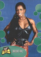 2001 WWF The Ultimate Diva Collection (Fleer) Jacqueline 46