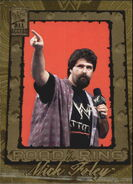 2002 WWF All Access (Fleer) Mick Foley 98