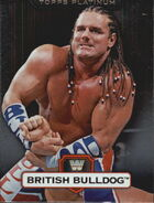 2010 WWE Platinum Trading Cards British Bulldog 99