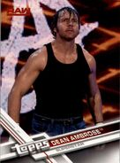 2017 WWE (Topps) Then, Now, Forever Dean Ambrose 119