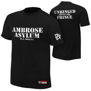Dean Ambrose Unhinged and on the Fringe Authentic T-Shirt
