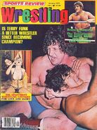 Sports Review Wrestling - January 1977