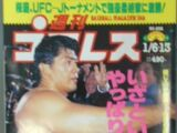 Weekly Pro Wrestling No. 832
