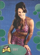2001 WWF The Ultimate Diva Collection (Fleer) Ivory 45