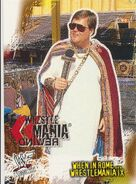2001 WWF WrestleMania (Fleer) When In Rome 89