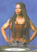 2003 WWE WrestleMania XIX (Fleer) Jacqueline 72