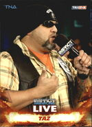 2013 TNA Impact Wrestling Live Trading Cards (Tristar) Taz 27