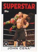 2016 WWE Heritage Wrestling Cards (Topps) John Cena 19