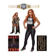 Becky Lynch Fathead 5-Piece Wall Decals