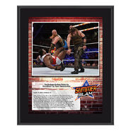 Bludgeon Brothers SummerSlam 2018 10 x 13 Commemorative Plaque