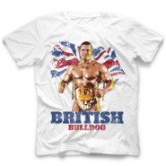 Brittish Bulldog Flag B by 500 Level T-Shirt