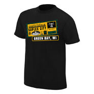 Brock Lesnar One Way Ticket Green Bay Edition T-Shirt