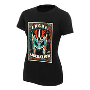 Kalisto Lucha Liberation Women's Authentic T-Shirt
