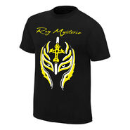 Rey Mysterio Greatest Mask of All Time Authentic T-Shirt
