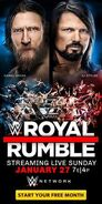 Royal Rumble 2019 Poster