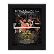 SanitY NXT TakeOver Brooklyn 2017 10 x 13 Commemorative Photo Plaque