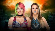 TLC 2017 Asuka vs. Emma