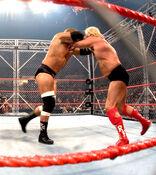 Triple H vs Ric Flair (Cage) 1