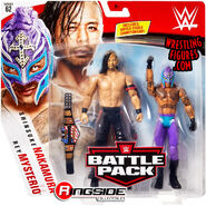 WWE Battle Packs 62 Rey Mysterio & Shinsuke Nakammura