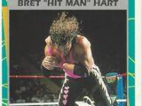 "1995 WWF Wrestling Trading Cards (Merlin) Bret ""Hit Man"" Hart (No.156)"