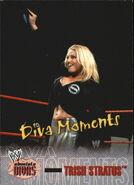 2002 WWE Absolute Divas (Fleer) Trish Stratus 75