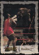 2004 WWE Chaos (Fleer) Booker T 13